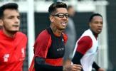 'Độc nhãn' Firmino khoe dụng cụ lạ trên sân tập Liverpool