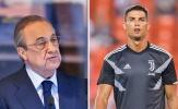 Phá vỡ sự im lặng, Perez chỉ ra lý do Real không thể không bán Ronaldo