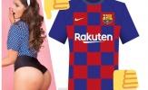 Nhận 'ân huệ' từ Messi, hoa hậu siêu vòng ba trở mặt móc mỉa Barca
