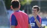 Bị FIFA lãng quên, Griezmann vẫn vui vẻ tại Madrid