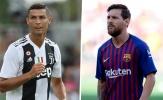 Top 5 'cỗ máy kiến tạo' đỉnh cao tại châu Âu: Ronaldo đối đầu Messi