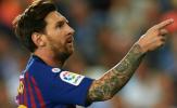 Messi 'điệu đà', bắt chước cách ăn mừng của Ronaldo