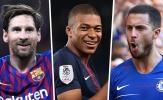 Đội hình hay nhất châu Âu từ đầu mùa: Không có chỗ cho Ronaldo!