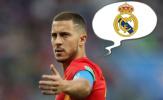 Qua mặt Chelsea, ngoài Courtois, Hazard còn liên lạc với cái tên Real này