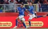 Sao lạ ghi bàn phút bù giờ, Italia tránh được nỗi lo rớt hạng