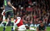 Bão chấn thương ập đến, Arsenal chia điểm đáng tiếc trước Sporting Lisbon