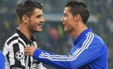 Đốt lưới Man Utd, cuối cùng Ronaldo cũng sánh ngang... Morata