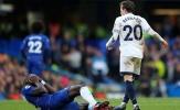 Rudiger ngã sấp mặt sau hành vi ác ý của cầu thủ Everton