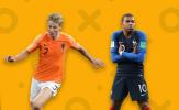 02h45 ngày 17/11, Hà Lan vs Pháp: Một cuộc chiến, ba số phận