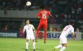 Sau hiệp một trận Myanmar, NHM ví cầu thủ này là 'Lukaku của Việt Nam'