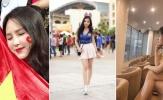 Truyền thông châu Á cũng phát sốt vì những nữ CĐV xinh đẹp của Việt Nam