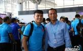 Chùm ảnh: Tuyển Việt Nam tạm biệt NHM, lên đường sang Malaysia