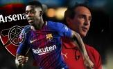 Lại vô kỷ luật, Ousmane Dembele đã muốn đào tẩu sang Arsenal?
