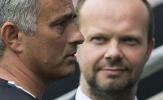 Nóng! Căng thẳng ở Man Utd, Woodward tiếp tục gây khó chịu cho Mourinho