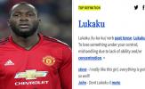 Sỉ nhục! Lukaku xuất hiện trong từ điển, nghĩa = 'giật mình'