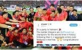 Truyền thông thế giới ngả mũ, bạn bè quốc tế thay nhau chúc mừng Việt Nam