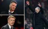 Bị Liverpool nhấn chìm, Mourinho đổ hết lỗi cho Van Gaal và Moyes