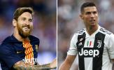 Top 5 cầu thủ ghi bàn, kiến tạo nhiều nhất cấp CLB 2018: Messi, Ronaldo, ai hơn ai?