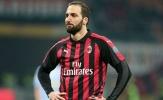 Bị loại khỏi đội hình Milan, Higuain sắp tới Chelsea?