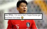 'Xin lỗi nhưng tôi mong ĐT Hàn Quốc bị loại khỏi Asian Cup ngay và luôn'