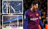 Bóng đá Châu Âu tuần qua: M.U nhất Premier League, Ronaldo nhất Serie A, Messi nhất Châu Âu