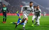 Nã đại bác bằng đầu, Ronaldo 'copy' pha ăn mừng nổi tiếng của đồng đội