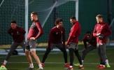 Liverpool tập luyện trong nỗi lo trước trận chiến Bayern Munich
