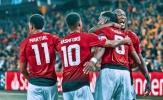 Bộ ba ghi bàn tốt nhất tại Châu Âu: Man Utd đứng thứ mấy?