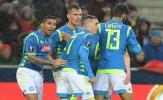 Thua sốc trên đất Áo, Napoli vẫn lạnh lùng tiến vào tứ kết Europa League
