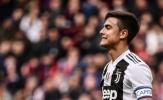 Juventus bại trận, Dybala bàng hoàng nhìn xa xăm tìm Ronaldo