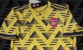 Rò rỉ thông tin về áo đấu mới của Arsenal, nhìn chẳng khác 'quả chuối bầm tím'