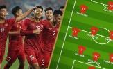 Đội hình ra sân U23 Việt Nam vs U23 Indonesia: Đình Trọng tái xuất, đặt niềm tin vào 'ảo thuật gia'