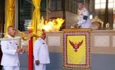 Quốc vương Thái Lan đốt lửa tưởng nhớ Chủ tịch Vichai của Leicester