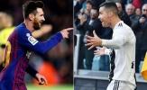 Dù muốn hay không thì Messi vẫn phải phục Ronaldo ở những điểm này