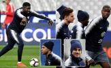 Pogba và dàn sao Pháp nghiêm túc trước trận gặp Iceland