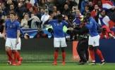 Được M.U xem mắt, 'kẻ bị Barca hắt hủi' ghi bàn rồi nhảy múa với Pogba