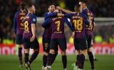 'Barcelona chưa vô địch'