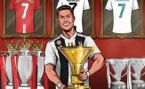 Ronaldo cùng Juventus lập kỷ lục khủng chưa từng có