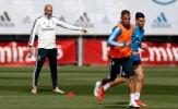 Zidane không cho học trò nghỉ ngơi dù mới giành chiến thắng