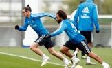 Tương lai bất định, Bale và Marcelo trở thành 'bộ đôi cùng tiến' trên sân tập