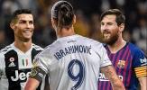 'Tôi nghĩ Ibrahimovic ở cùng đẳng cấp như Ronaldo, Messi'