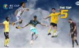 Không phải Oseni, 'Ảo thuật gia' Hà Nội lọt top 5 cầu thủ xuất sắc lượt 5 AFC Cup