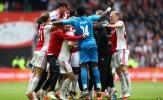 Mục tiêu Man United có vai trò mới trong ngày Ajax 99% vô địch Eredivisie