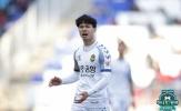 Công Phượng thi đấu 20 phút trong ngày Incheon thua trận thứ 8 tại K-League
