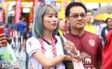 Chiêm ngưỡng những 'bóng hồng' Thái Lan làm xao xuyến CĐV ở King's Cup