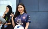 Hot girl Thái Lan 'hâm nóng' bầu không khí trước trận tranh hạng 3 King's Cup