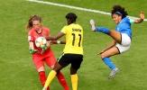 'Bán hành' Jamaica, tuyển nữ Ý điền tên vào vòng 16 đội World Cup