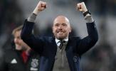 CHÍNH THỨC: Các ông lớn vỡ mộng, Ten Hag ở lại Ajax thêm 2 năm