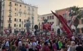 Hơn 2000 người ra đường ăn mừng sinh nhật đội bóng cũ của Gattuso