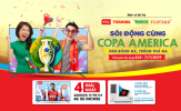 Tivi màn hình lớn 'bão' giá mùa Copa America
